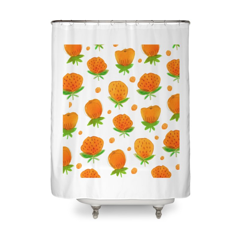 Blossom Home Shower Curtain by yeohgh