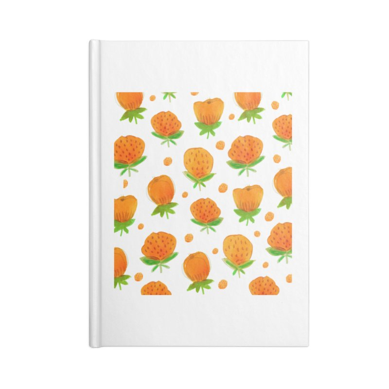 Blossom Accessories Blank Journal Notebook by yeohgh
