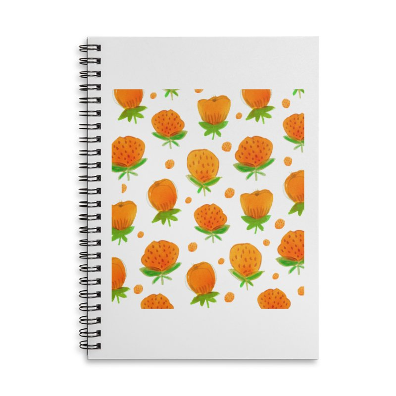 Blossom Accessories Lined Spiral Notebook by yeohgh