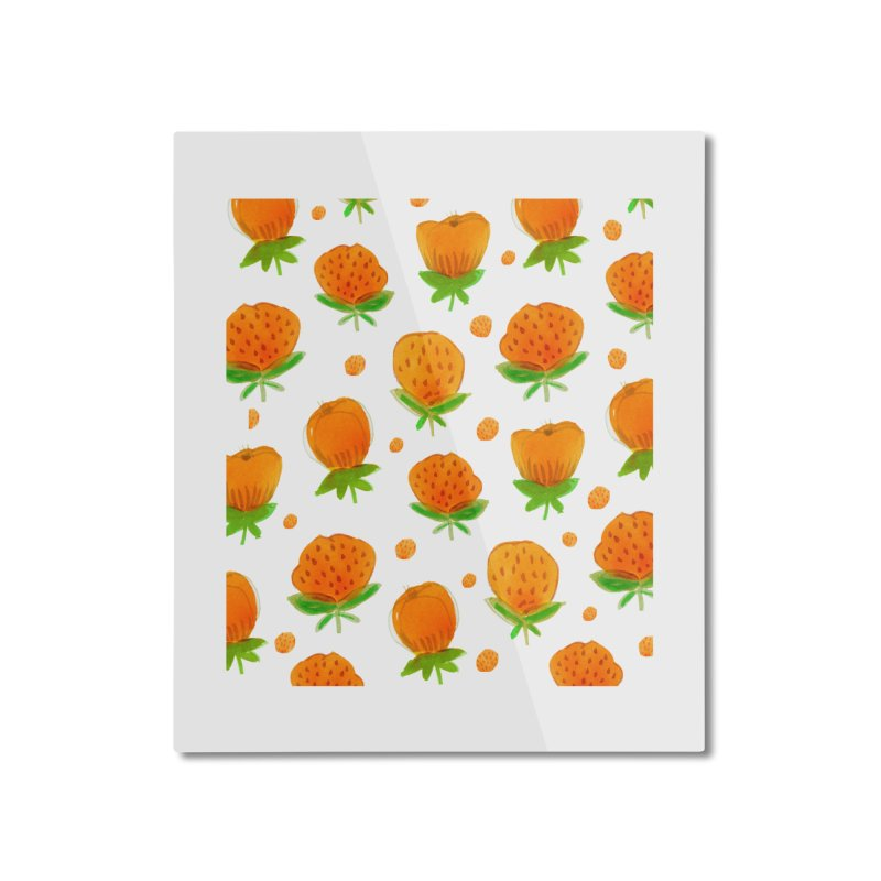 Blossom Home Mounted Aluminum Print by yeohgh