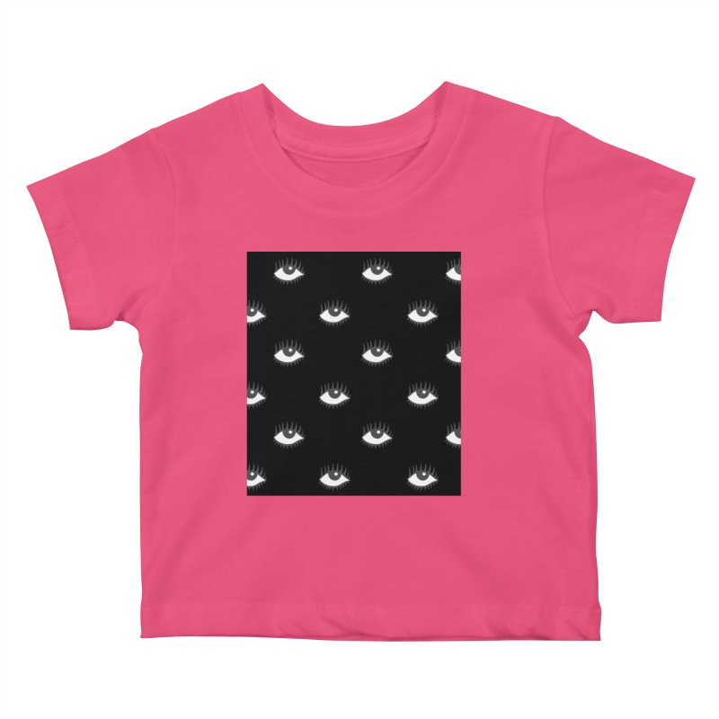 EYES POP! Kids Baby T-Shirt by yeohgh