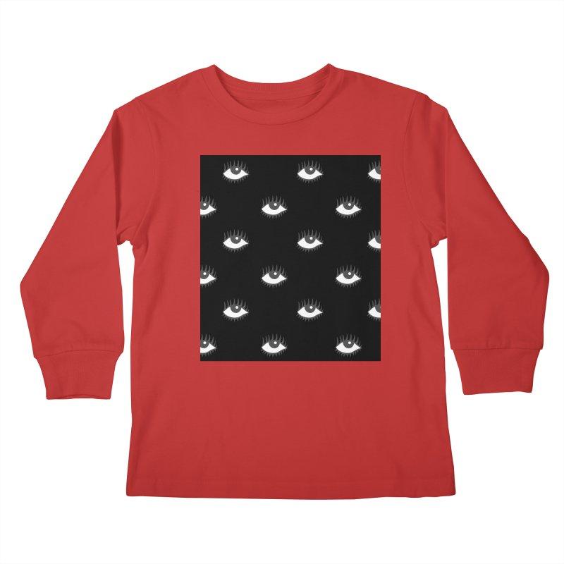 EYES POP! Kids Longsleeve T-Shirt by yeohgh