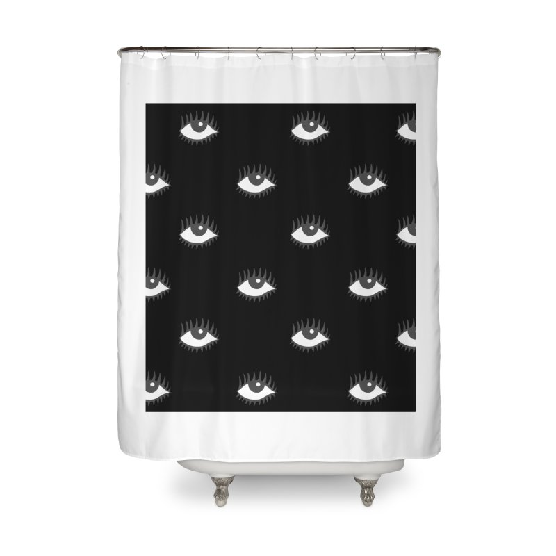 EYES POP! Home Shower Curtain by yeohgh