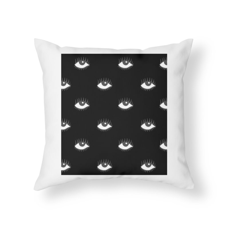 EYES POP! Home Throw Pillow by yeohgh