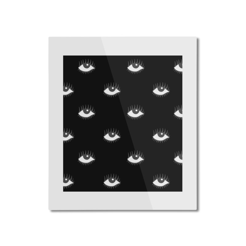 EYES POP! Home Mounted Aluminum Print by yeohgh