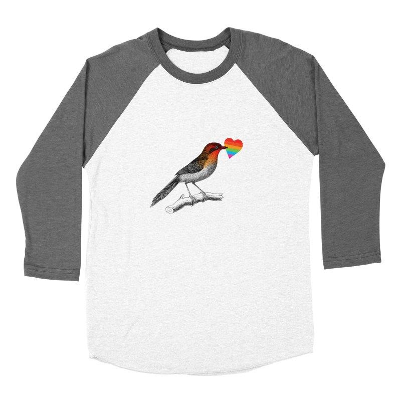 Love Affection Women's Baseball Triblend Longsleeve T-Shirt by yeohgh