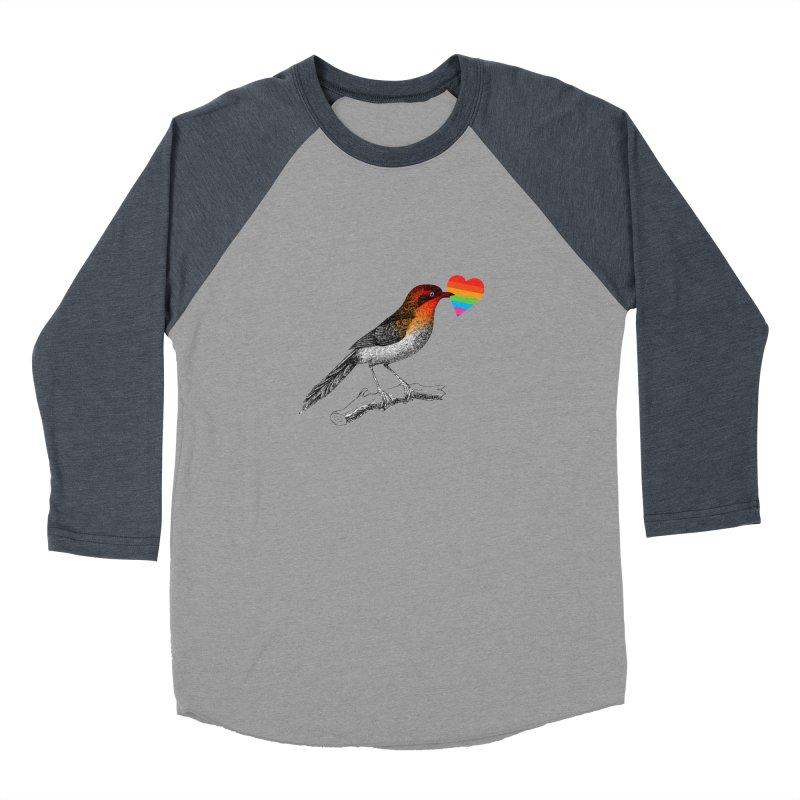 Love Affection Men's Baseball Triblend Longsleeve T-Shirt by yeohgh