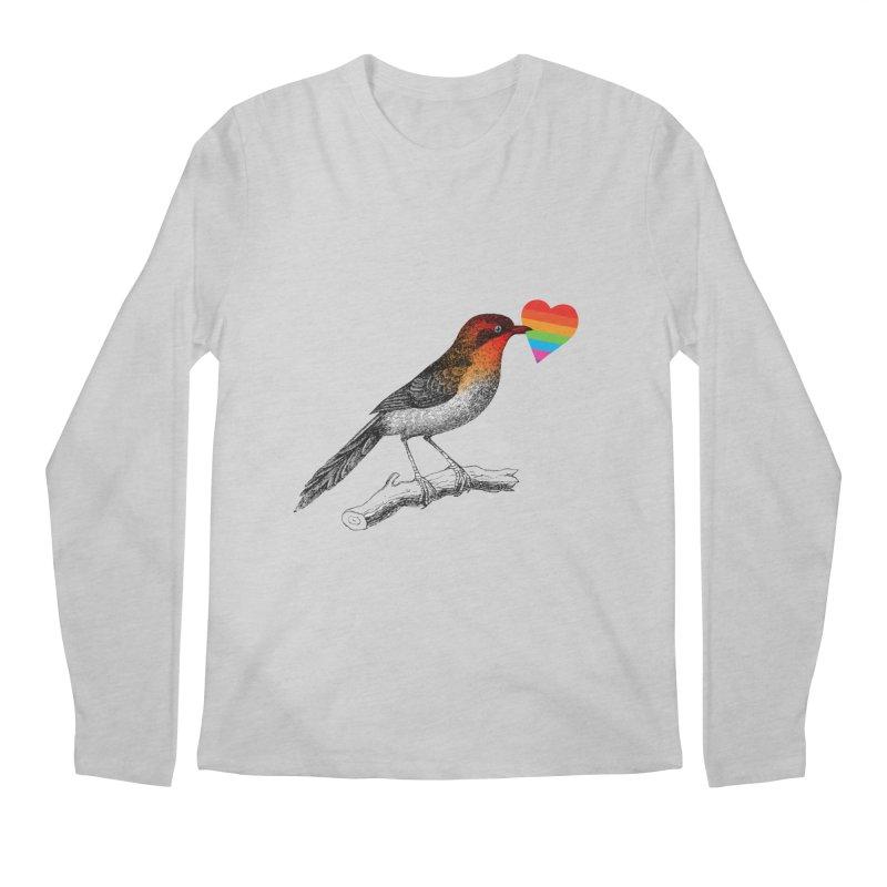 Love Affection Men's Regular Longsleeve T-Shirt by yeohgh