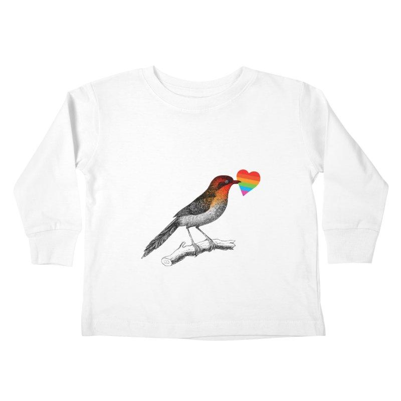 Love Affection Kids Toddler Longsleeve T-Shirt by yeohgh