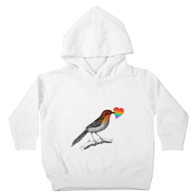 Love Affection Kids Toddler Pullover Hoody by yeohgh