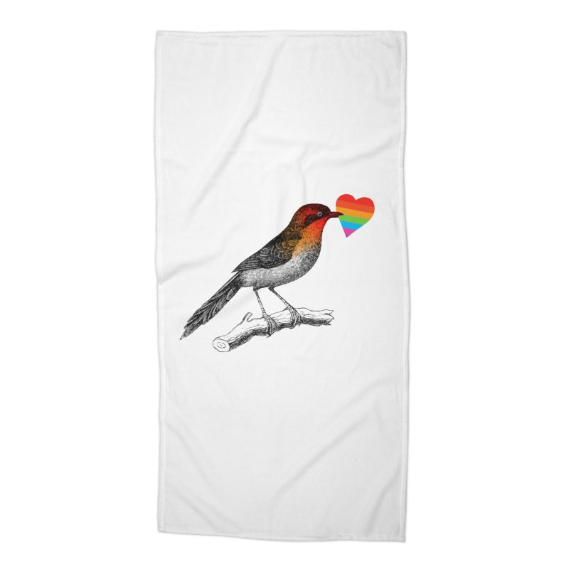 Love Affection Accessories Beach Towel by yeohgh