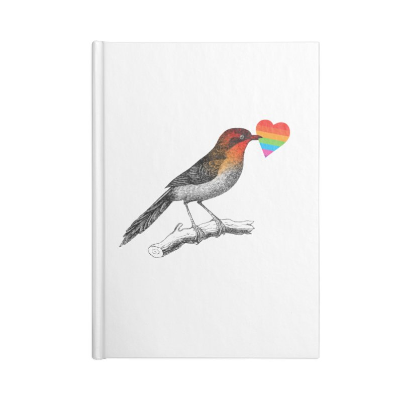 Love Affection Accessories Blank Journal Notebook by yeohgh