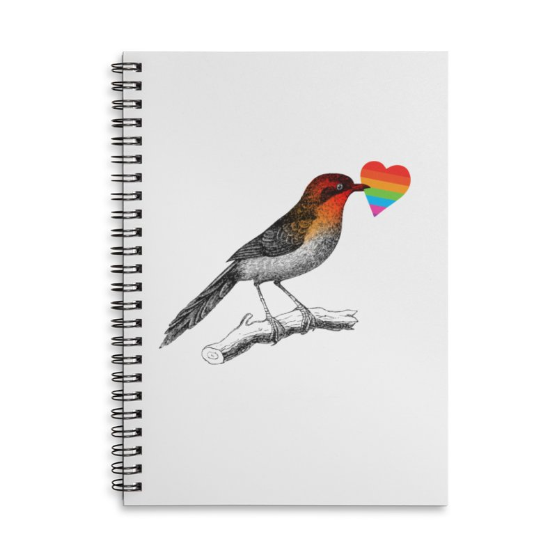 Love Affection Accessories Lined Spiral Notebook by yeohgh