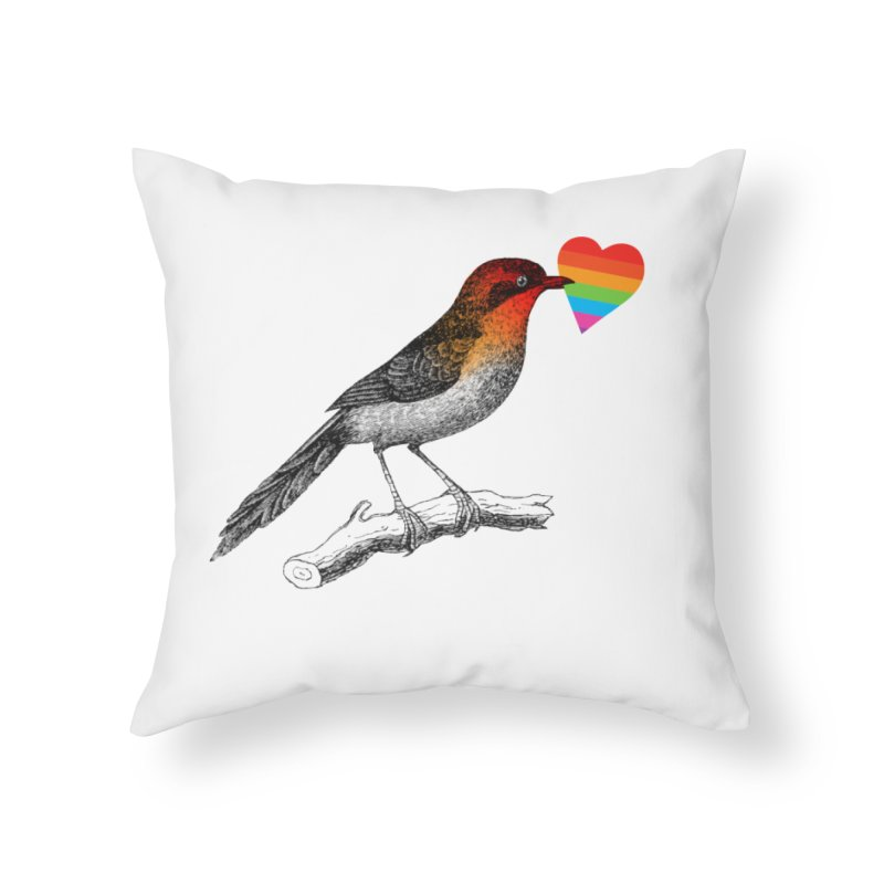Love Affection Home Throw Pillow by yeohgh