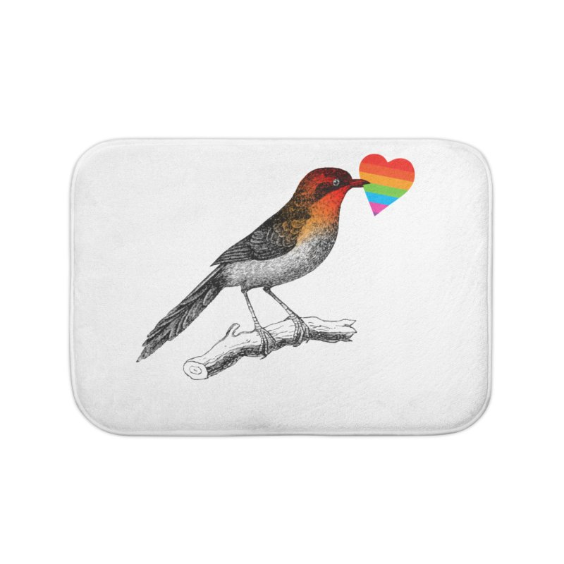Love Affection Home Bath Mat by yeohgh