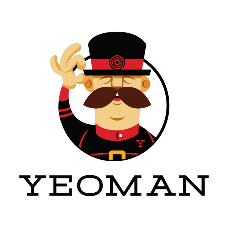 Yeoman (logo) Men's T-Shirt by Yeoman