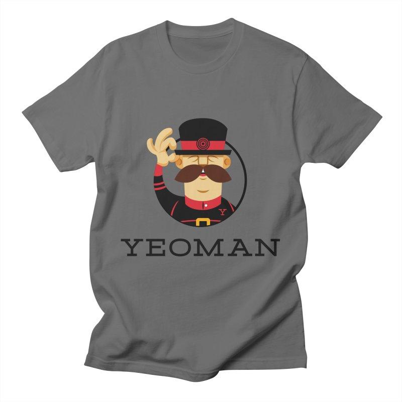 Yeoman (logo) Men's T-Shirt by Yeoman