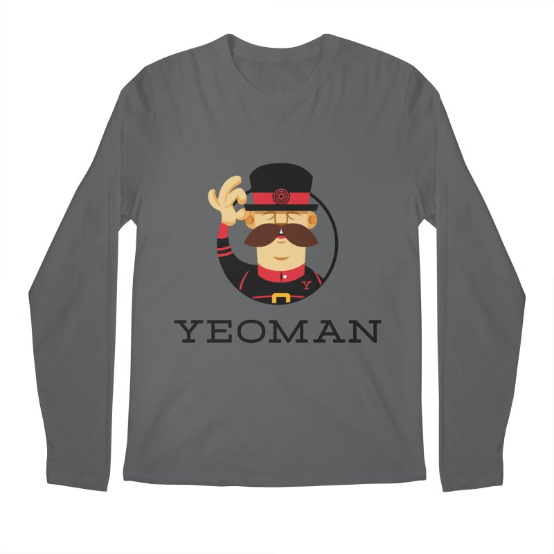 Yeoman (logo) Men's Longsleeve T-Shirt by Yeoman