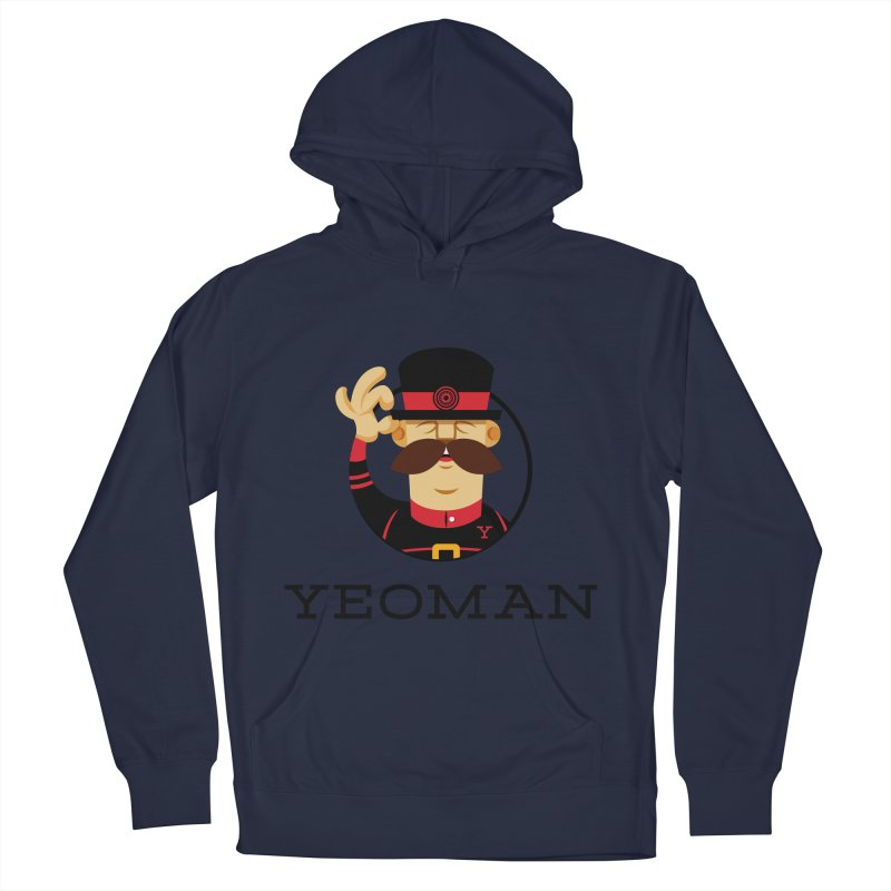 Yeoman (logo) Women's French Terry Pullover Hoody by Yeoman