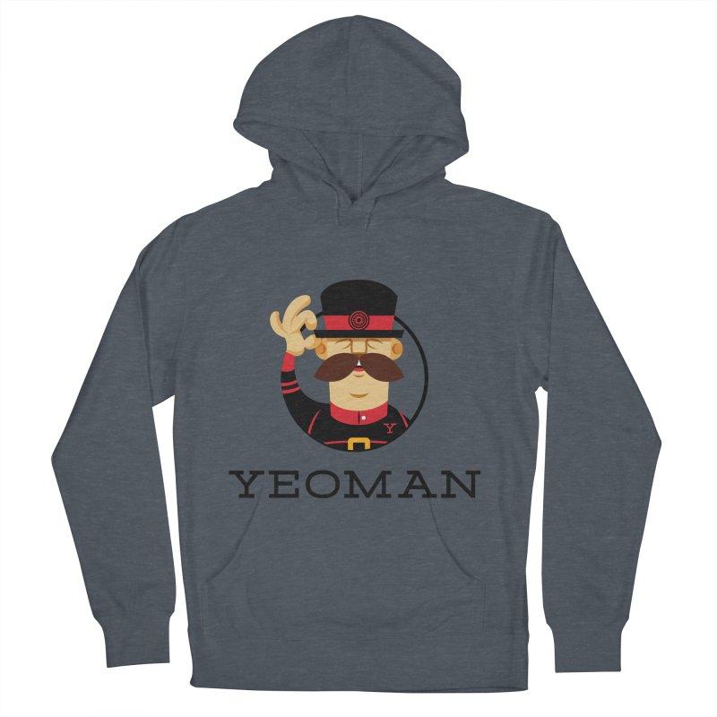 Yeoman (logo) Men's Pullover Hoody by Yeoman