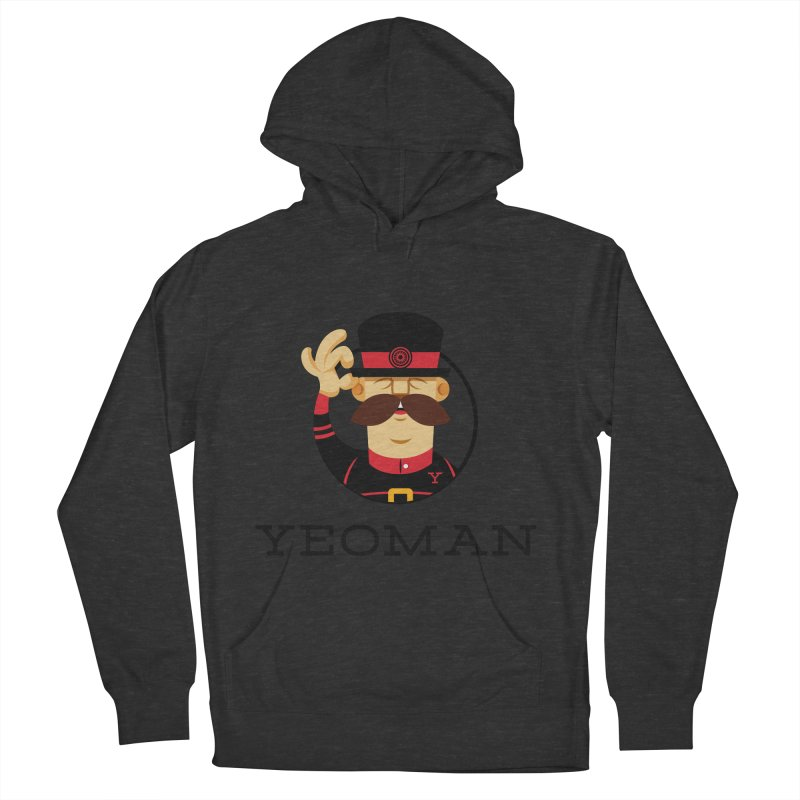 Yeoman (logo) Men's French Terry Pullover Hoody by Yeoman