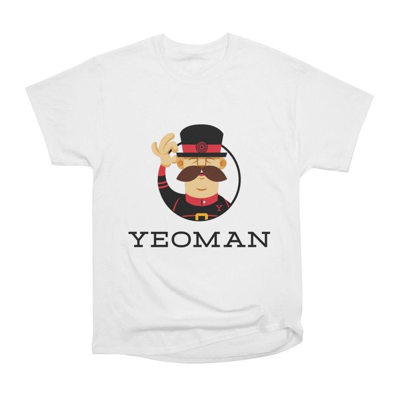 Yeoman (logo) Men's Heavyweight T-Shirt by Yeoman