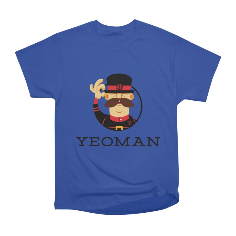 Yeoman (logo) Men's Heavyweight T-Shirt by Yeoman