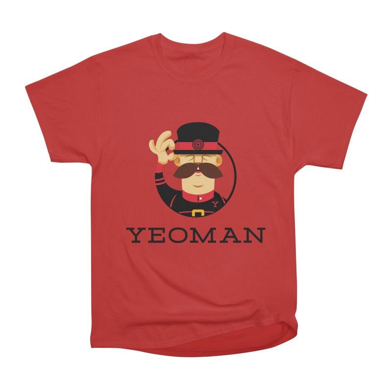 Yeoman (logo) Women's Heavyweight Unisex T-Shirt by Yeoman