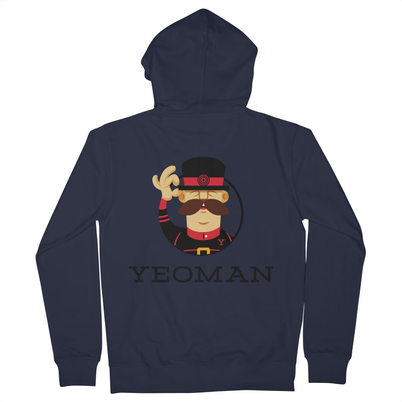 Yeoman (logo) Women's French Terry Zip-Up Hoody by Yeoman