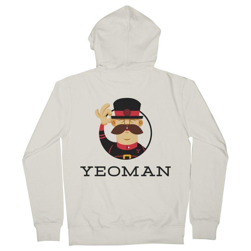 Yeoman (logo) Men's French Terry Zip-Up Hoody by Yeoman