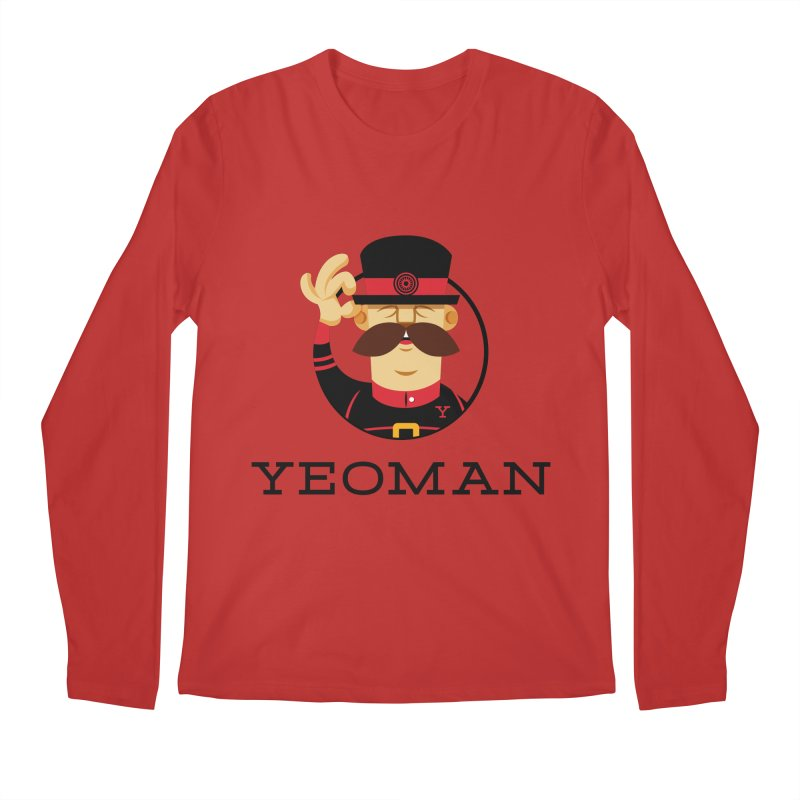 Yeoman (logo) Men's Regular Longsleeve T-Shirt by Yeoman
