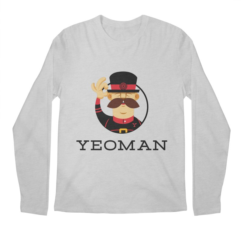 Yeoman (logo) Men's Regular Longsleeve T-Shirt by Yeoman