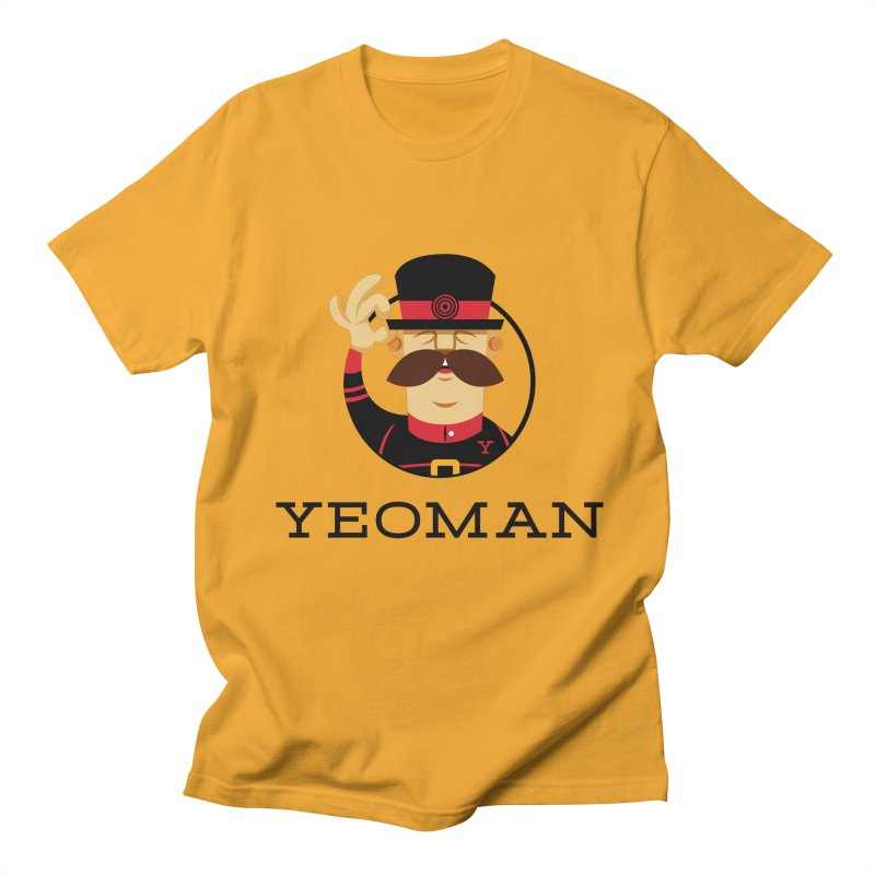 Yeoman (logo) Men's Regular T-Shirt by Yeoman