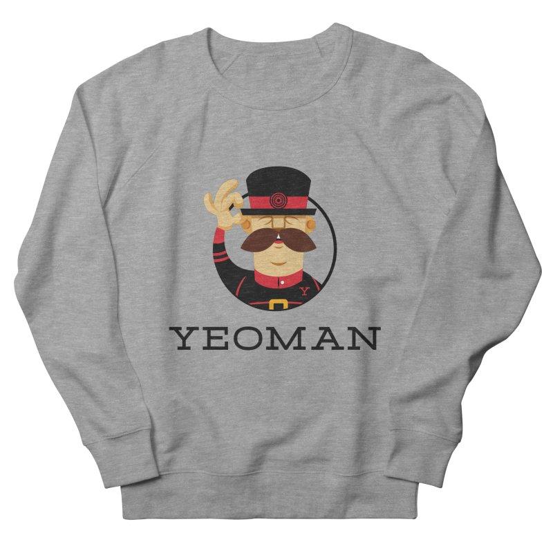 Yeoman (logo) Men's French Terry Sweatshirt by Yeoman