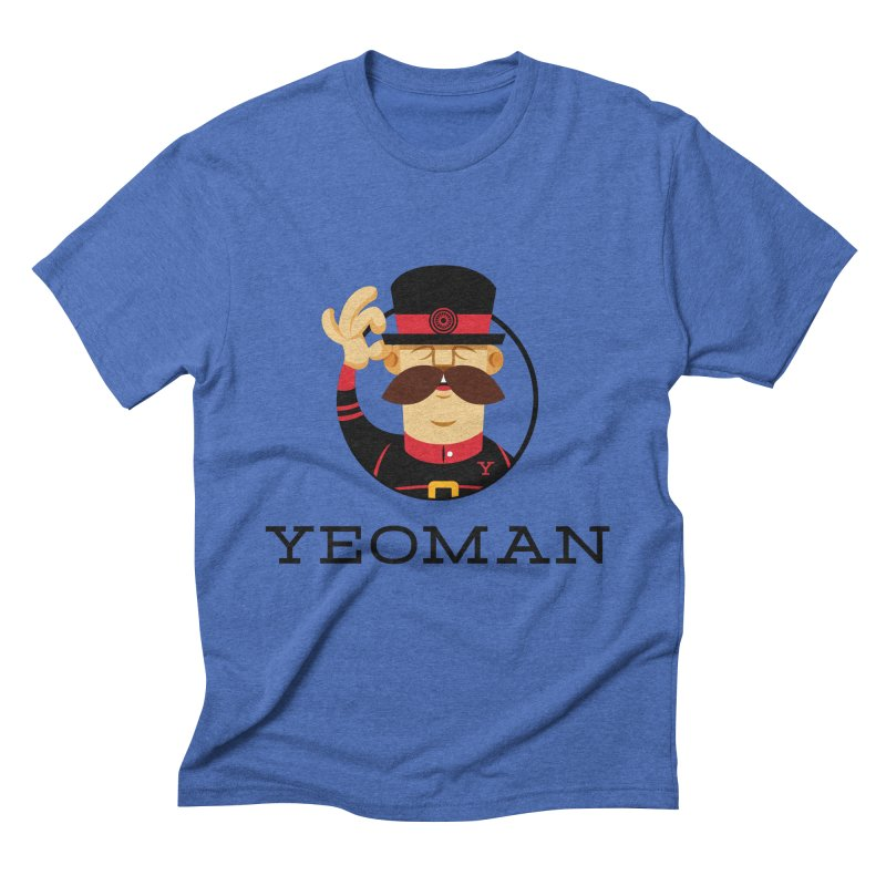 Yeoman (logo) Men's Triblend T-Shirt by Yeoman