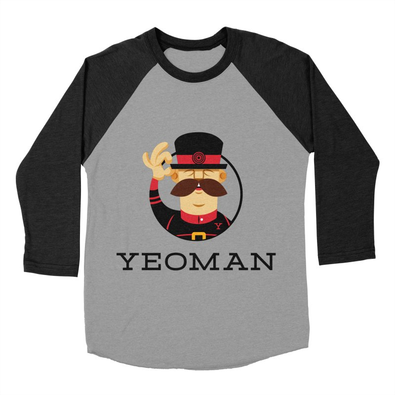 Yeoman (logo) Women's Baseball Triblend Longsleeve T-Shirt by Yeoman