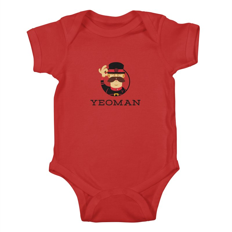 Yeoman (logo) Kids Baby Bodysuit by Yeoman