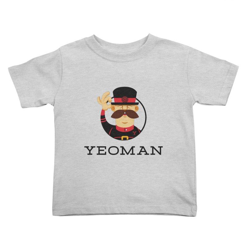 Yeoman (logo) Kids Toddler T-Shirt by Yeoman