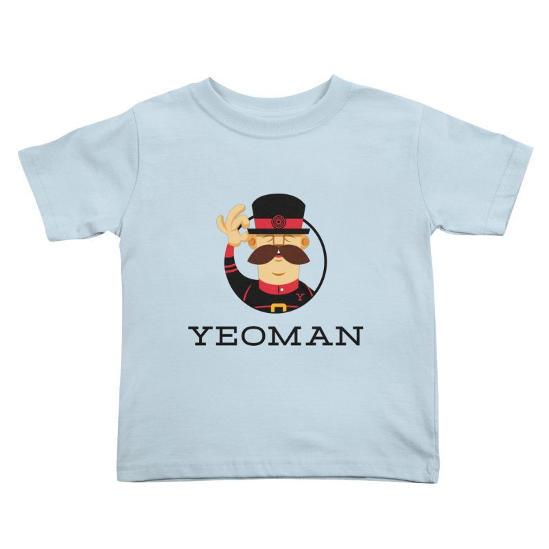 Yeoman (logo) Kids Toddler T-Shirt by Yeoman