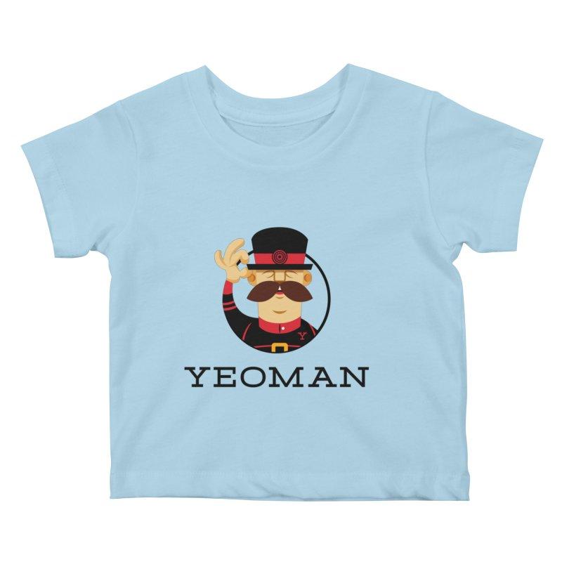 Yeoman (logo) Kids Baby T-Shirt by Yeoman