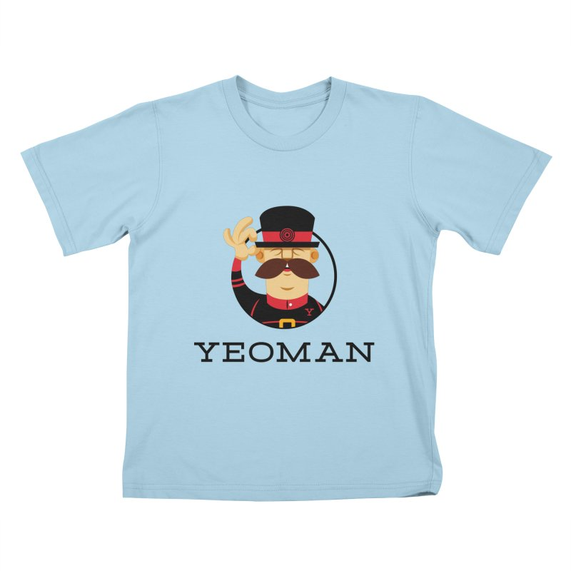 Yeoman (logo) Kids T-Shirt by Yeoman