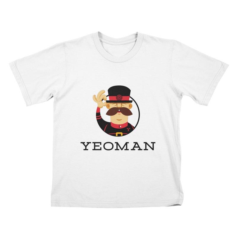 Yeoman (logo) Kids T-Shirt by Yeoman