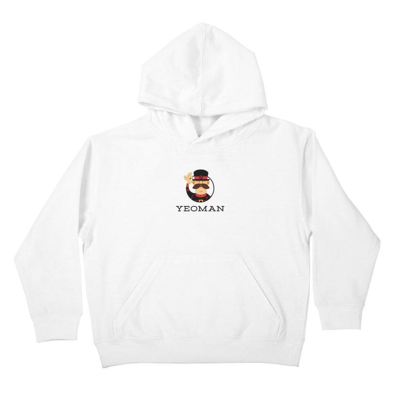Yeoman (logo) Kids Pullover Hoody by Yeoman