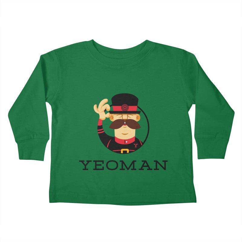 Yeoman (logo) Kids Toddler Longsleeve T-Shirt by Yeoman