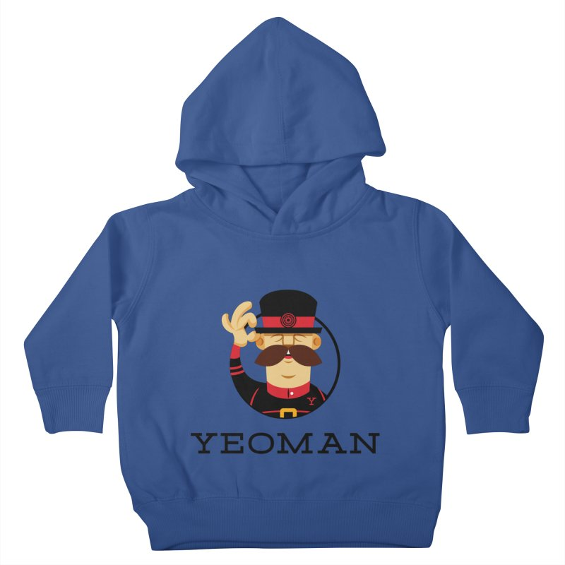Yeoman (logo) Kids Toddler Pullover Hoody by Yeoman