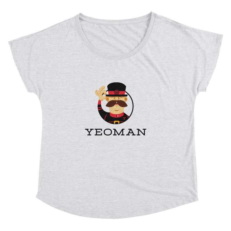 Yeoman (logo) Women's Dolman Scoop Neck by Yeoman
