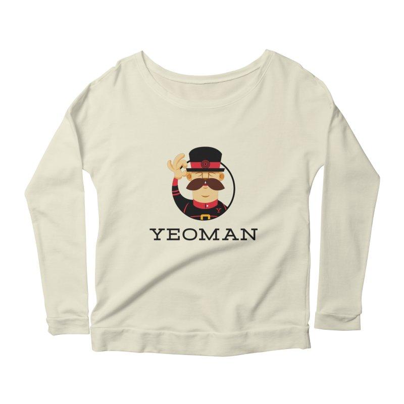 Yeoman (logo) Women's Scoop Neck Longsleeve T-Shirt by Yeoman