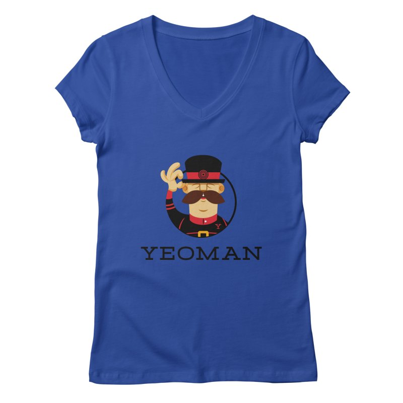 Yeoman (logo) Women's Regular V-Neck by Yeoman