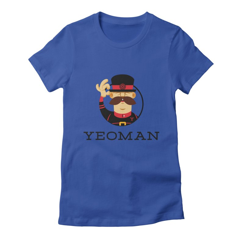 Yeoman (logo) Women's Fitted T-Shirt by Yeoman