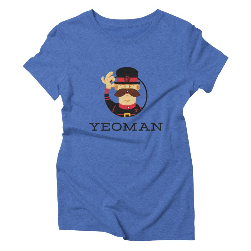 Yeoman (logo) Women's Triblend T-Shirt by Yeoman